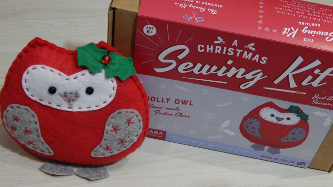 christmas sewing kit from Clara Create