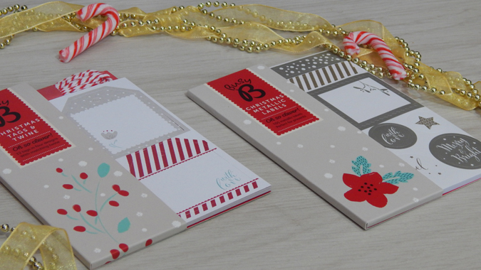 Christmas tags and labels from Busy B