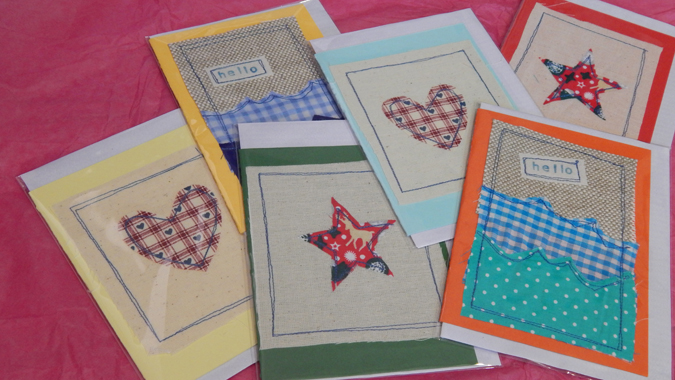 hanmade in cornwall cards