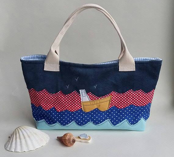 hanmade in cornwall handbag