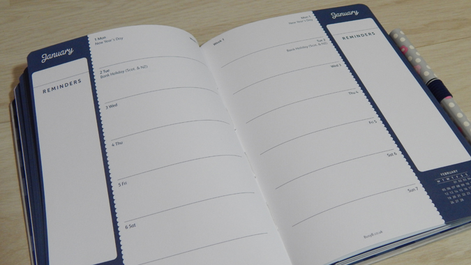Busy B 2018 diary review
