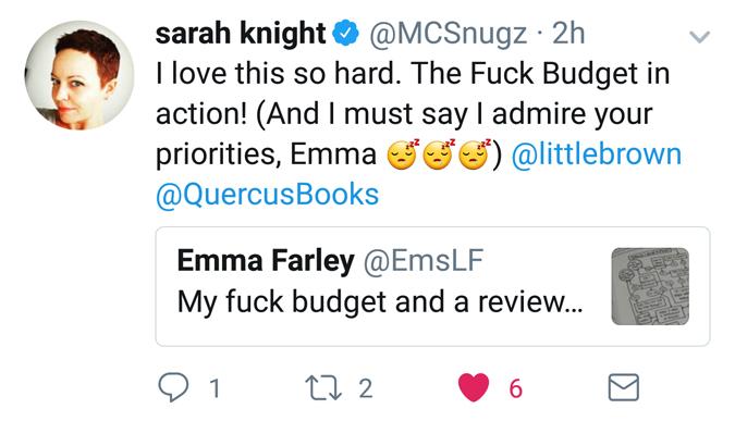 sarah knight tweet