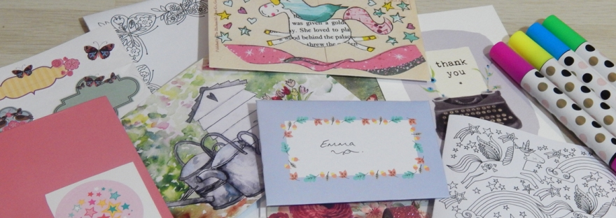 stationery swap November 2017