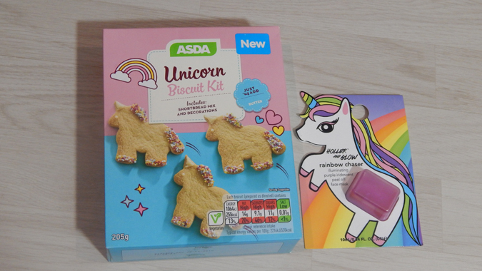 Unicorn birthday treats