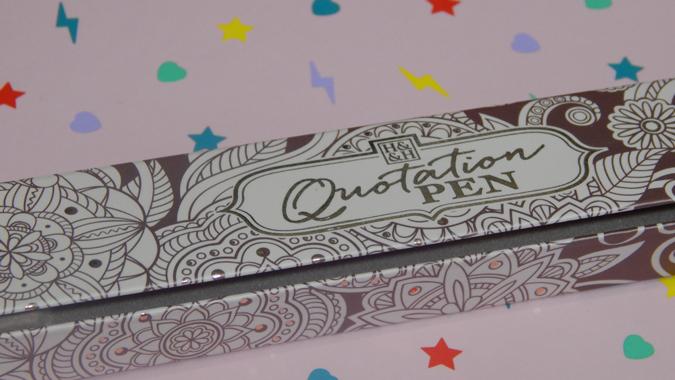 Name quotation pen