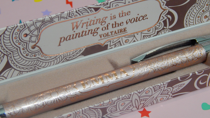 Name quotation pen