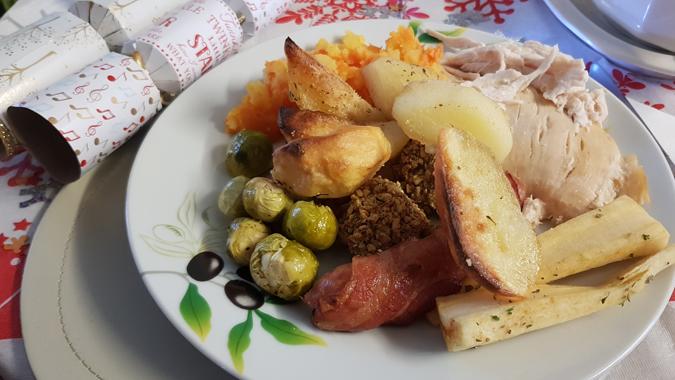 Christmas dinner 2017