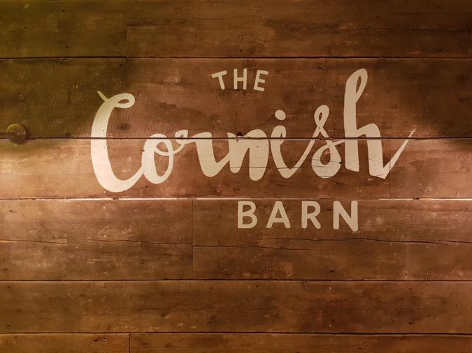 Birthday cocktails at The Cornish Barn