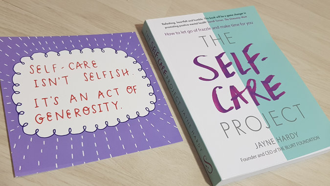 The Self-Care Project by Jayne Hardy - book review