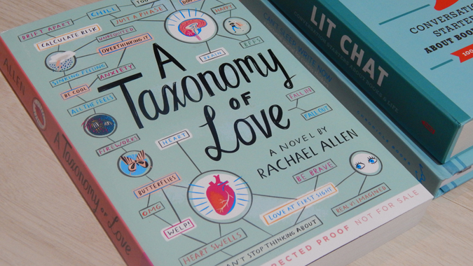 Book review - A Taxonomy of Love by Rachael Allen