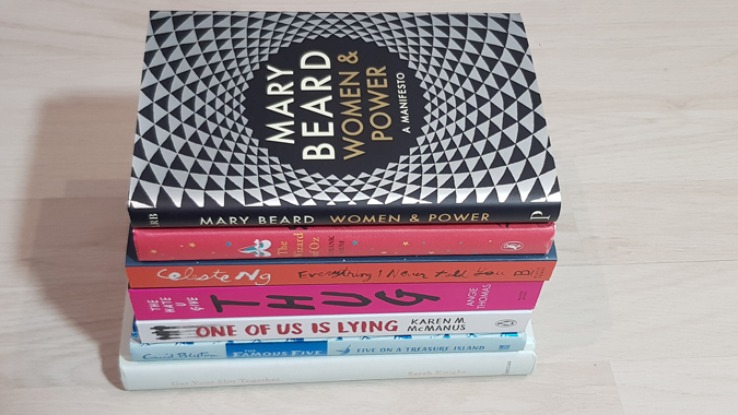 A post-Christmas book haul