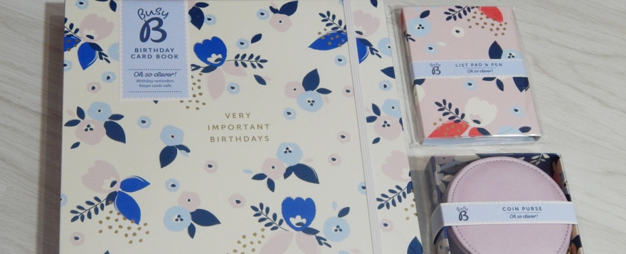 Pretty stationery from Busy B