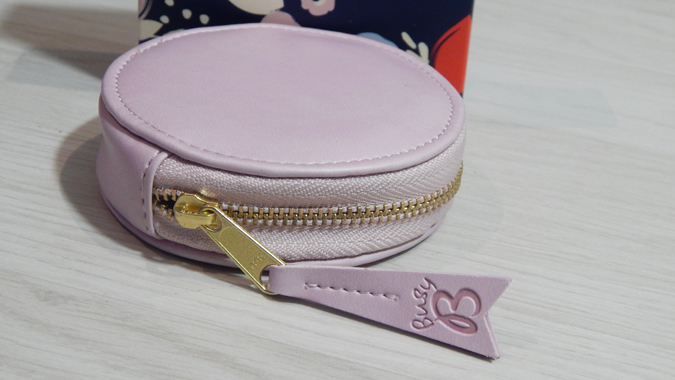 Pretty coin purse from Busy B