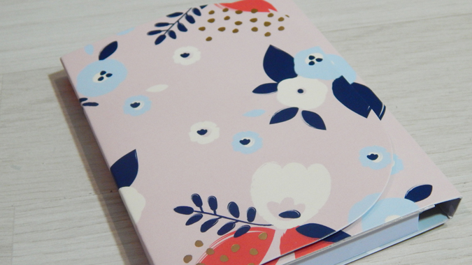 Pretty list pad from Busy B