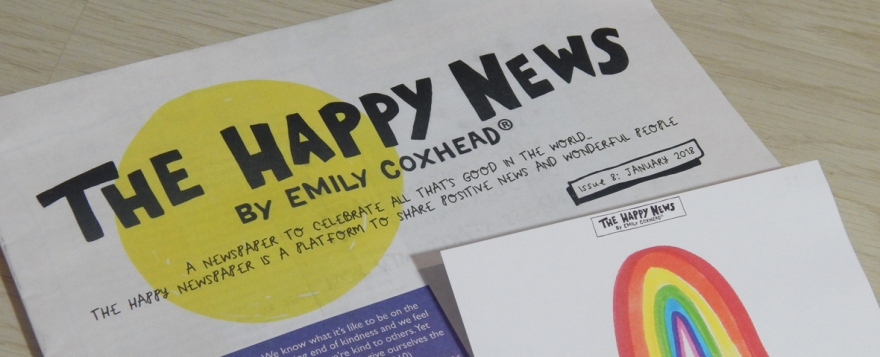The Happy Newspaper Issue 8 - review