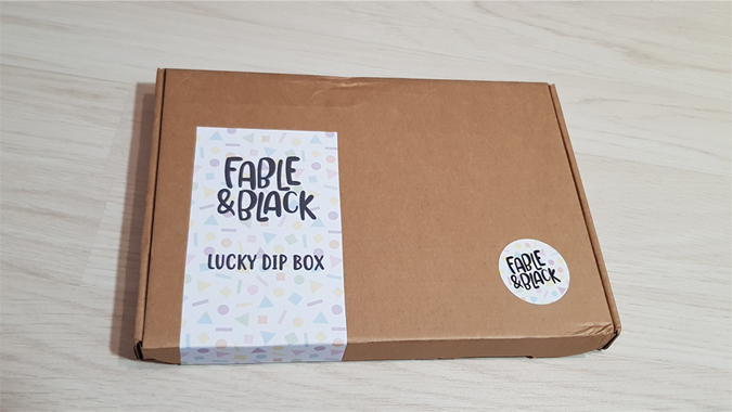 Inside the Fable & Black Lucky Dip Box
