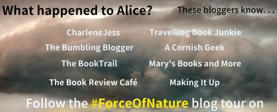 Force of Nature blog tour