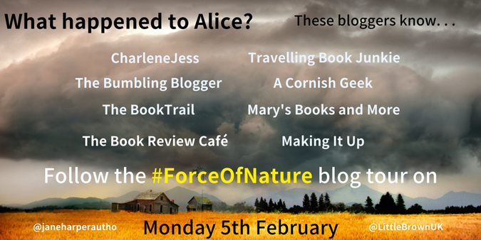 Force of Nature blog tour