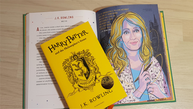 Harry Potter the the Philosopher's Stone - Hufflepuff edition