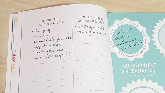 Teen Breathe List Journal review