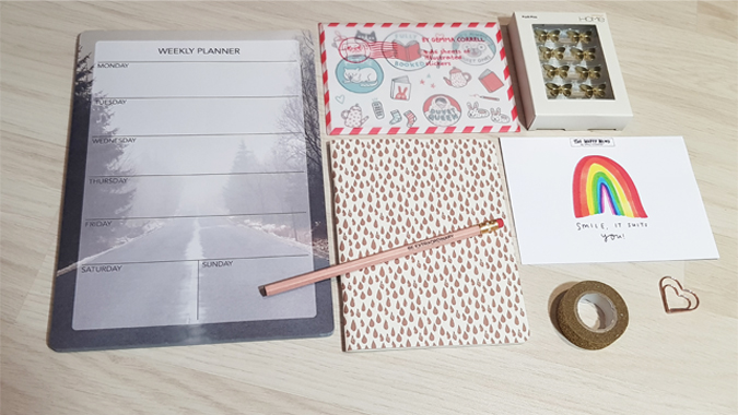 February 2018 stationery swap