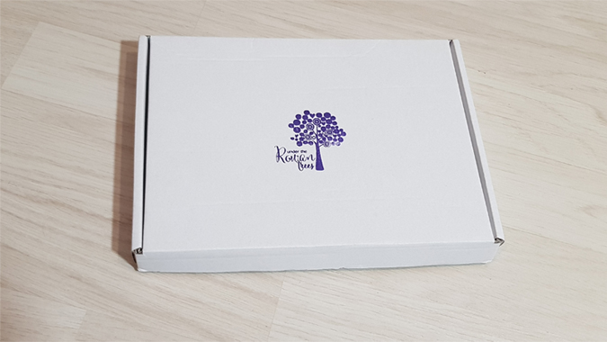 Under the Rowan Trees stationery box