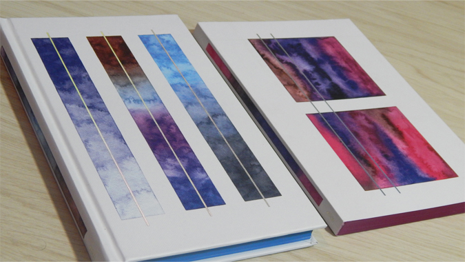 Watercolor Workshop stationery by Sasha Prood from Abrams + Chronicle
