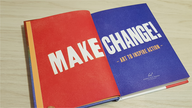Make Change! Art to inspire action