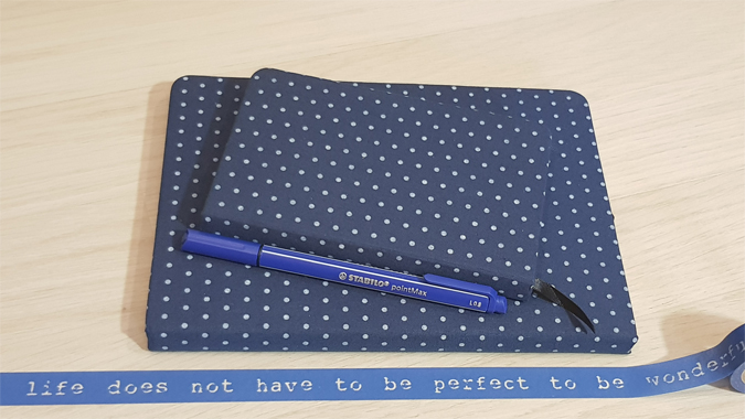 Dotted notebooks from Hex and Ginger