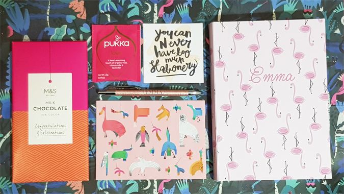 Not Only Polka Dots custom notebook review