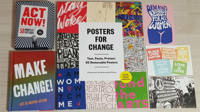 Posters for Change book review