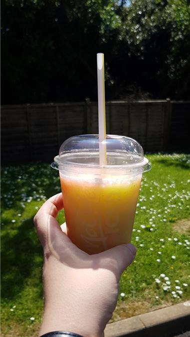 McDonalds strawberry lemonade
