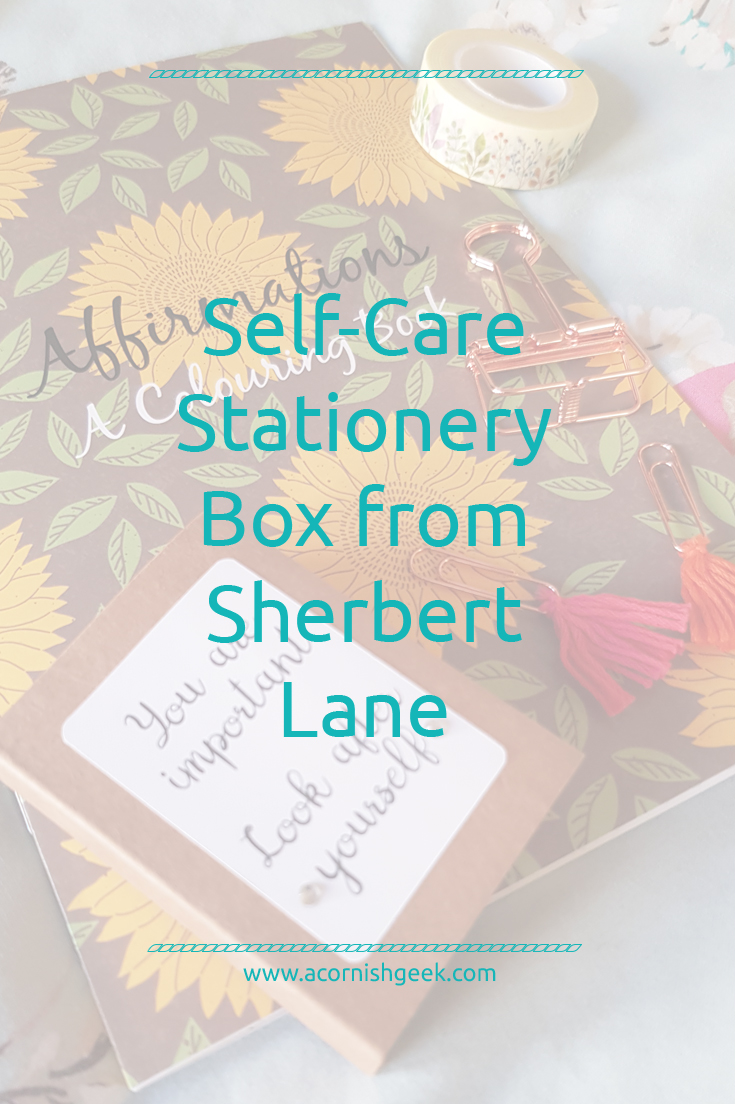SherbetBox Club - self-care review