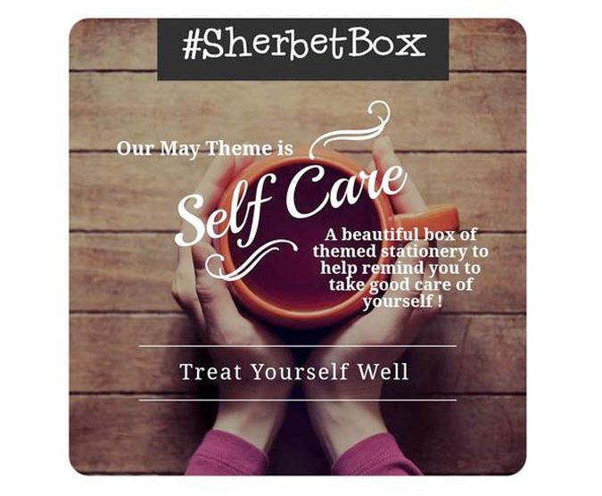 SherbertBox self-care
