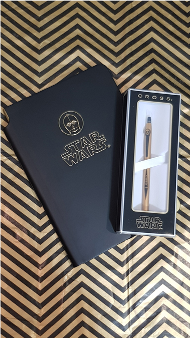 Star Wars stationery from Executive Pens Direct