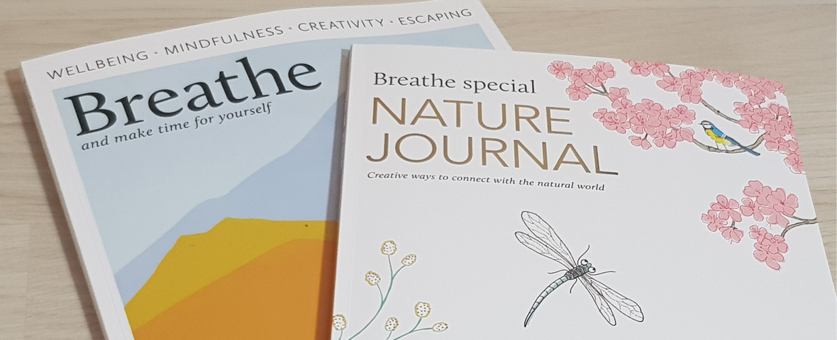 Breathe magazine and Nature Journal review and giveaway