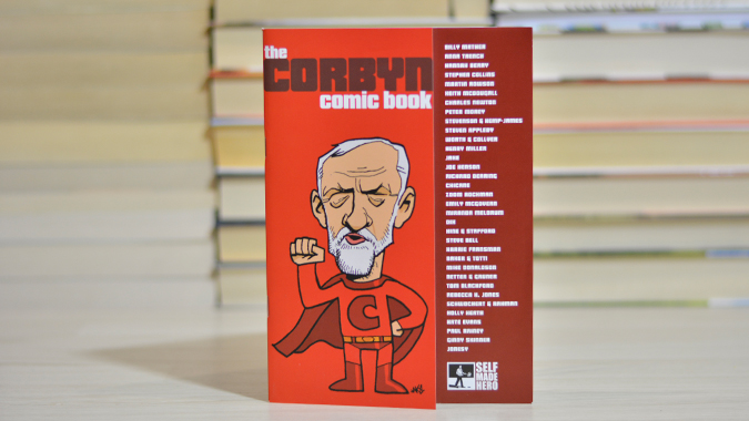 Corbyn Comic Book