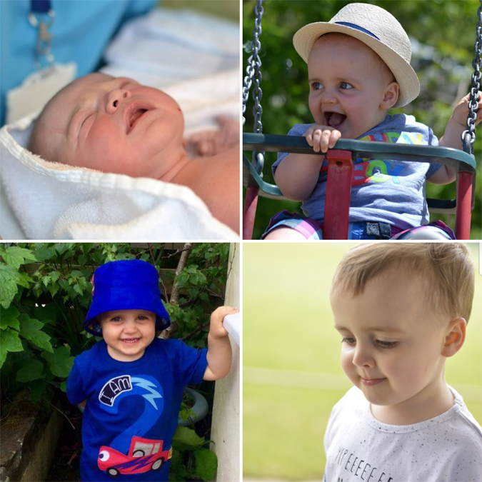 Jenson - newborn to three years old