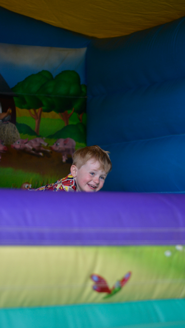 Jenson's third birthday party with Jump With Jo