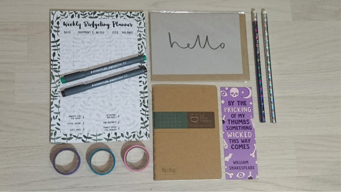 Stationery Swap June 2018
