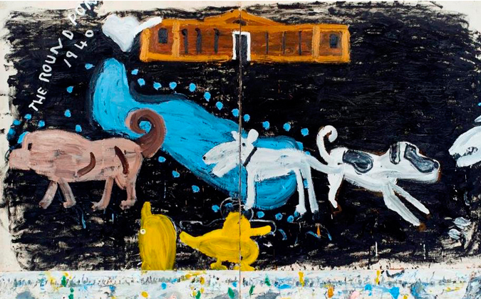 Rose Wylie - History Painting