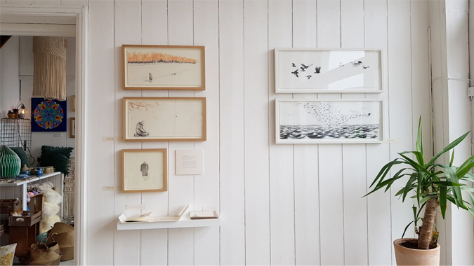 Hidden Stories by Esther Connon at Circa 21, Penzance