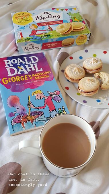 Mr Kipling cakes - George's Marvellous Medicine