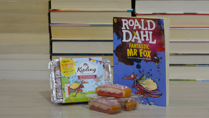 Mr Kipling Roald Dahl cakes