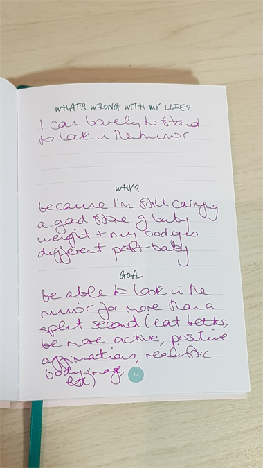 Get Your Shit Together Journal by Sarah Knight