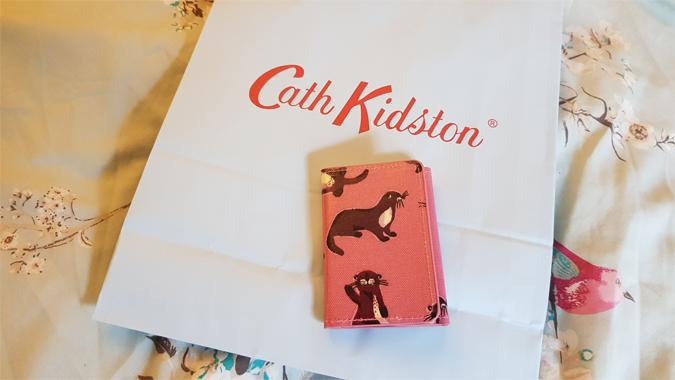 Cath Kidston otter ticket holder