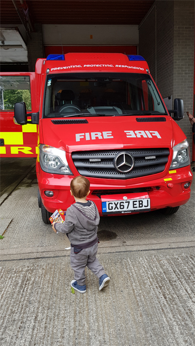 Penzance fire station open day