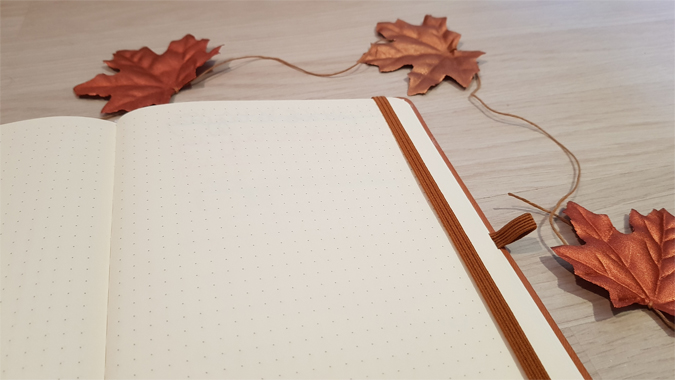 Hex and Ginger dot grid notebook review