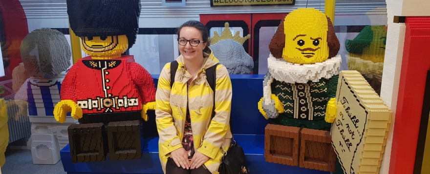 12 hours in London - Lego shop