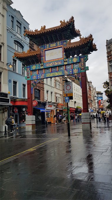 12 hours in London - Chinatown